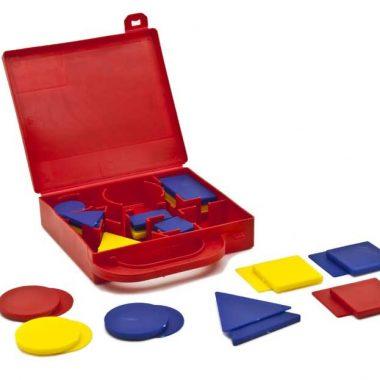ID057 Figuras lógicas en material plástico