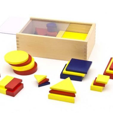 ID058 Figuras lógicas en madera