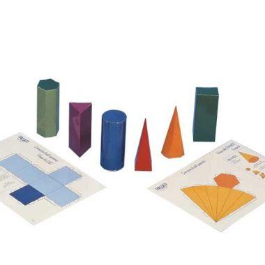 7097 Sólidos geométricos plastificados
