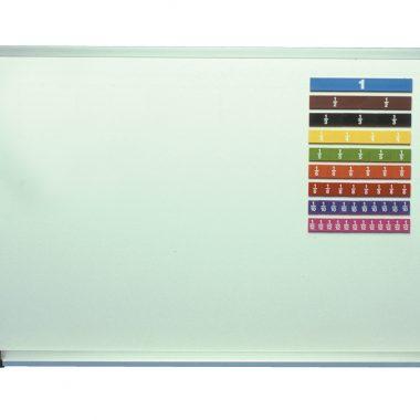 7131 Tabla de las fracciones para pizarra magnética