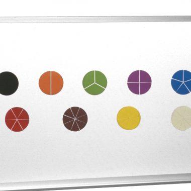 7133 Fracciones del círculo para pizarra magnética